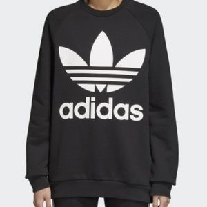 New Womens Adidas Oversized Sweatshirt
